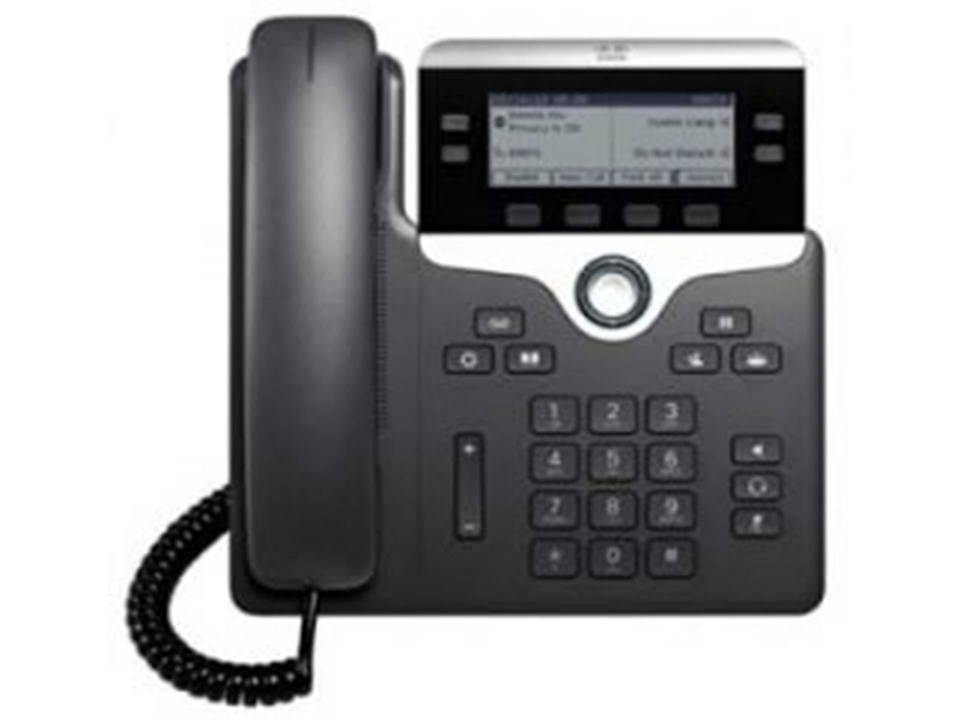 Kensoko com - Cisco 7821 IP Phone 2 Lines 2 Ethernets Port PoE