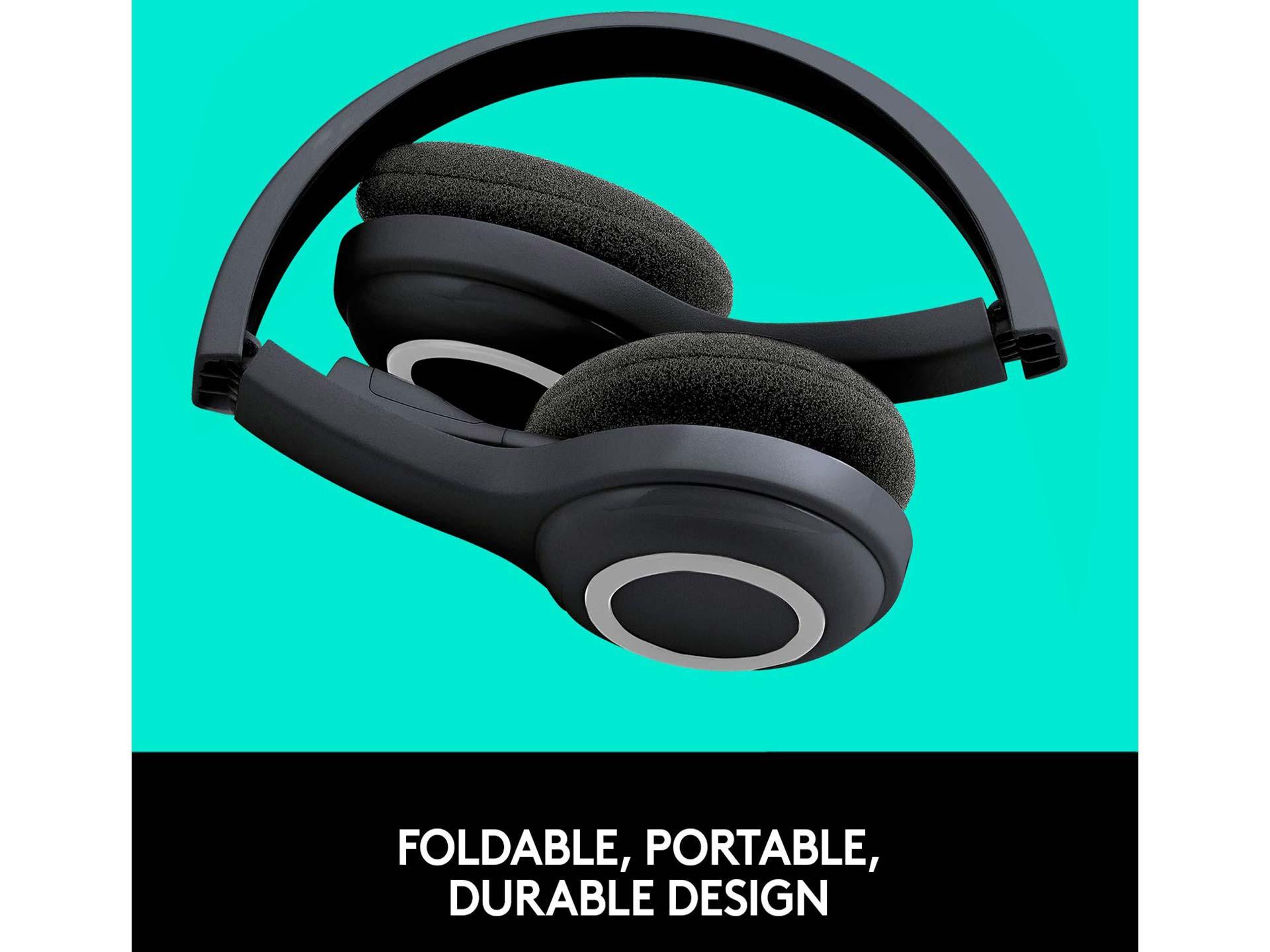 Kensoko com - Logitech Over-The-Head Wireless Headset H600